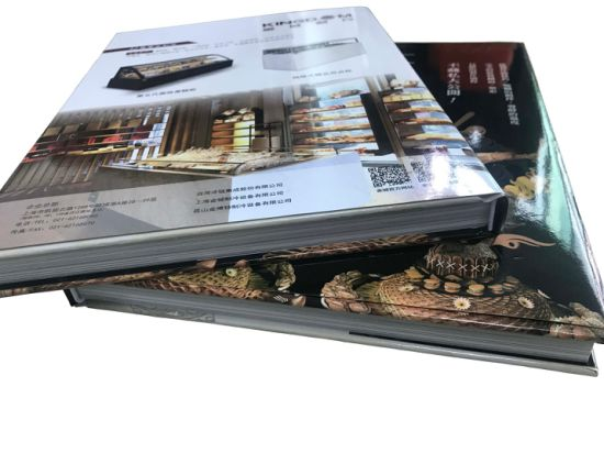 Cusotomized Hardcover Cook Book Printing (OEM-JH005)