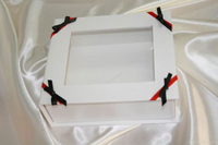 Custom Paper Gift Box with Clear Window Cardboard Package Boxes
