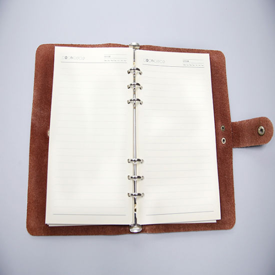Leather Notebook Printing with Printing Factory