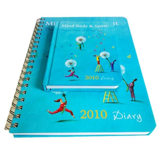 Hot Sale Spiral Binding Notebook Printing