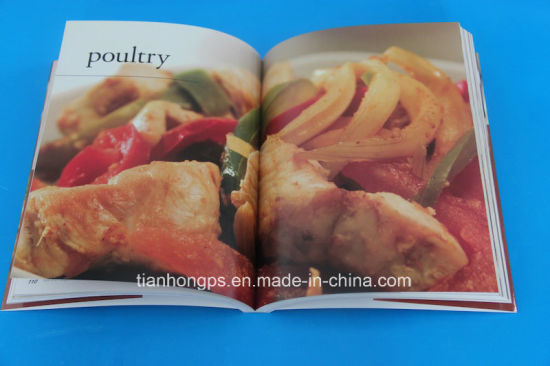 Magazine Printing, Softcover Cook Book (OEM-SC029)