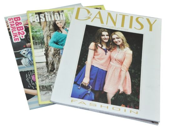A4 Printing Magazine, Full Color Book Printing, Fashion Magazine Printing