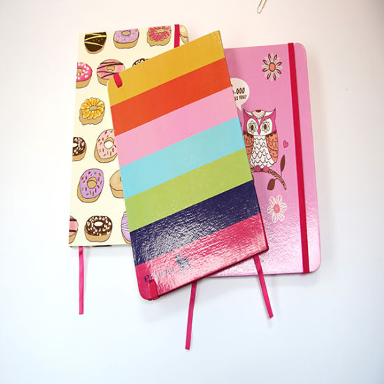Hard Cover Notebook New Arrival with Rubber Band