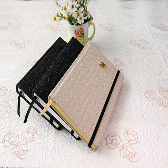 Customized PU Leather Notebook with Elastic 2016