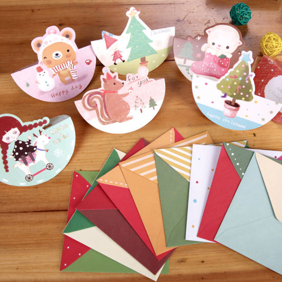 Hot Sales Christmas Paper Greeting Card Printing