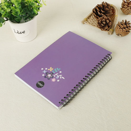 Full Color Wire-O Notebook Printing Service (OEM-JN001)