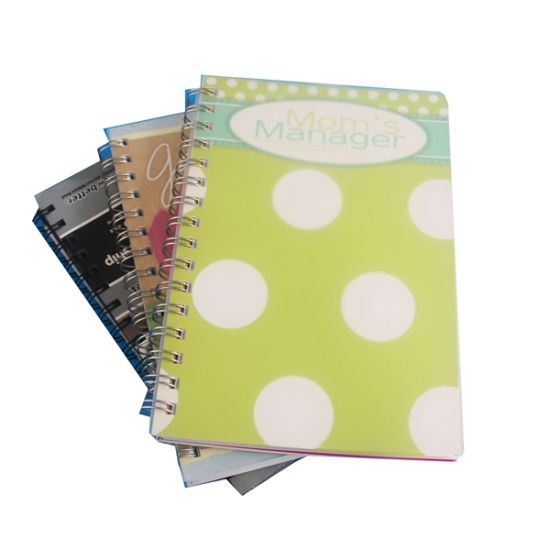 Delicate Spiral/Yo Notebook Printing with Low Price