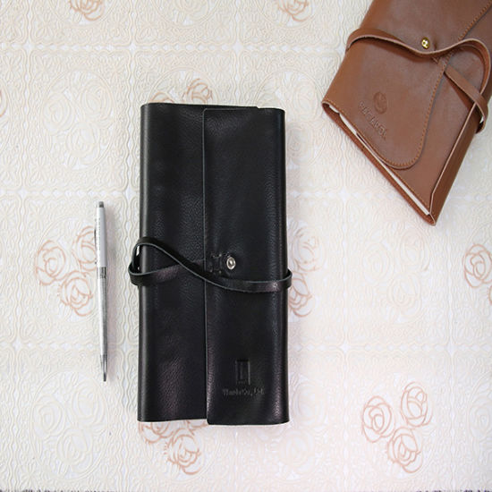 Leather Series Concealed Wiro-O Notebook Printing
