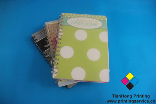 High Quality Spiral Binding Notebook Printing (OEM-WR004)