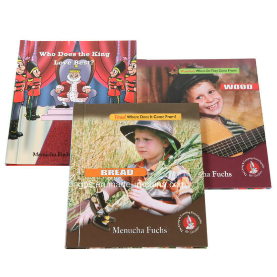Colourful Children Hardcover Story Book Printing